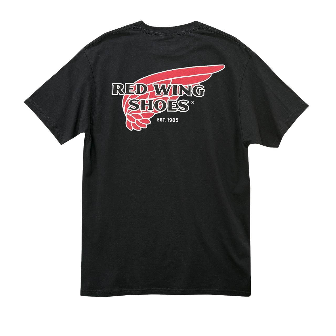 Red Wing 97405 Black Logo T-Shirt