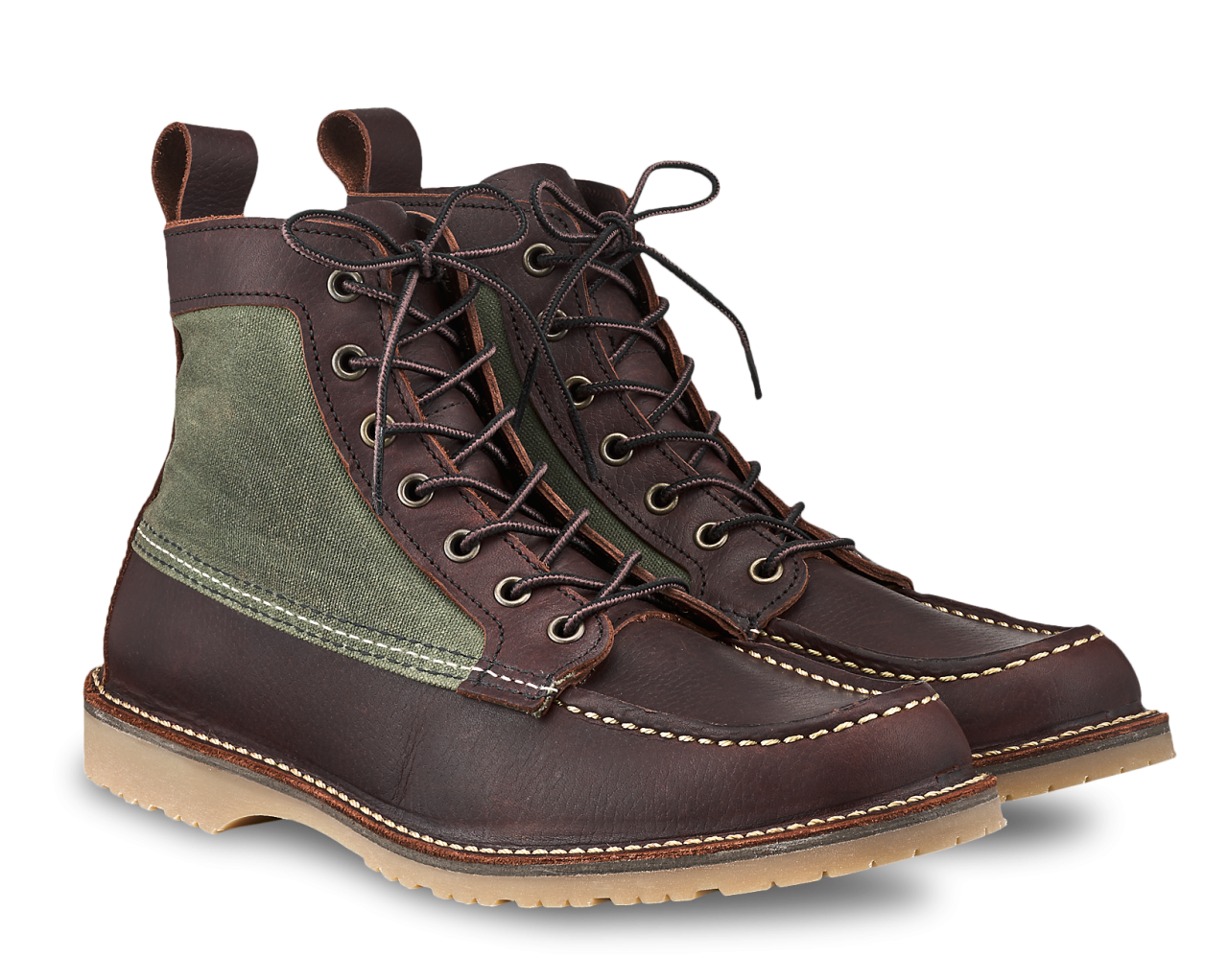 Red Wing 3336 Canvas Moc